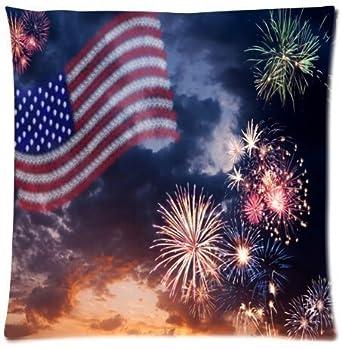 Amazon.com: Beautiful Bandera Americana y Castillo de fuegos ...