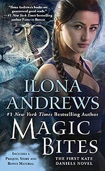 ilona andrews Magic Bites fantasy book reviews science fiction book reviews