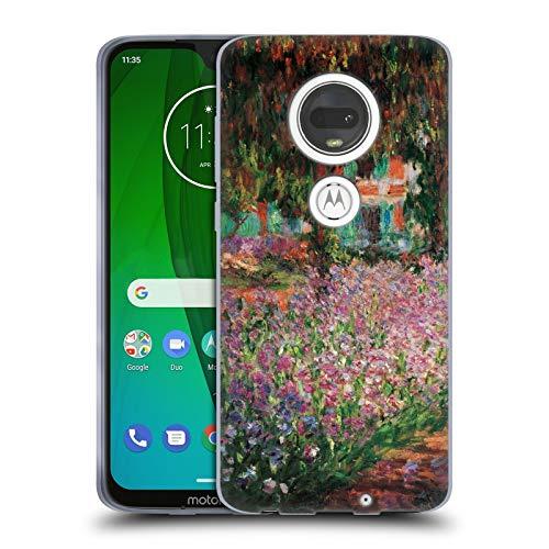 Official Masters Collection Le Jardin De L'Artiste Paintings 1 Soft Gel Case for Motorola Moto G7
