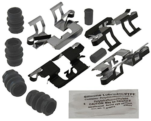 ACDelco 18K1902X Professional Rear Disc Brake Caliper Hardware Kit with Clips, Seals, Bushings, and Lubricant