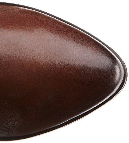 Caprice 25508 - botas de caño alto de cuero mujer marrón - Braun (braun (DK BROWN 335))
