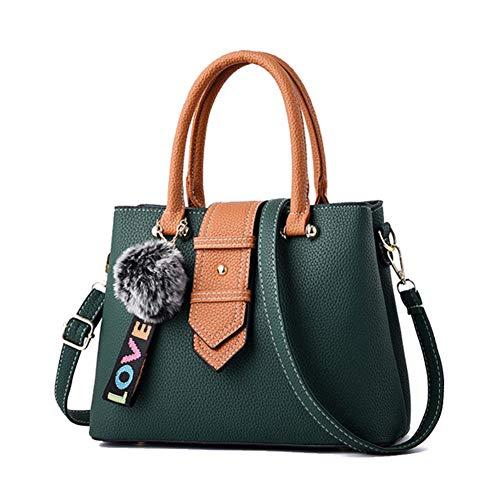 Green Wererfg Donna New Messenger Shoulder Fashion Patchwork Women Handle Borse Top Style And Designer Leather Handbag Hasp Yellow ZZr0X