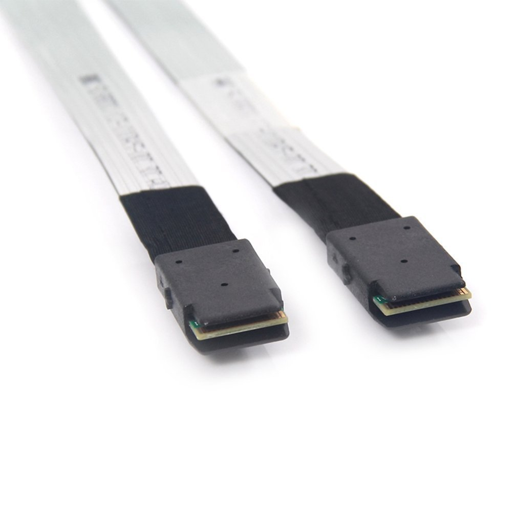 cable SFF-8643 Using 3M twinax cable technology 10Gtek HD miniSAS 0.8-Meter,2pcs Packing