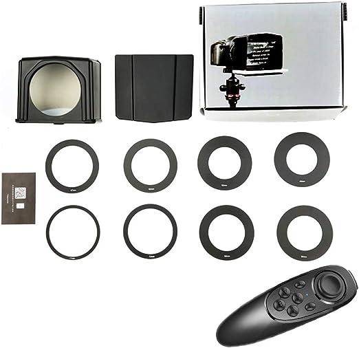 Matedepreso Portable Teleprompter Kit Interview Teleprompter Video ...
