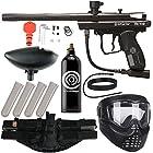 Action Village Kingman Spyder Epic Paintball Gun Package Kit (Victor) (Black)