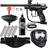 Action Village Kingman Spyder Epic Paintball Gun Package Kit (Victor) (Black)