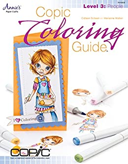 Amazon.com: Copic Coloring Guide Level 3: People eBook: Colleen ...