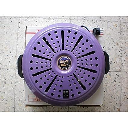 brasero electrico de bajo consumo y calor negro Mave
