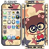 Super Cute !!''SMILE GIRL'' Screen Protector For iPhone 5/5S/SE