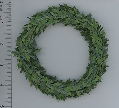 Dolls House Holly Leaf Garland Miniature Roping Xmas for sale  Delivered anywhere in USA