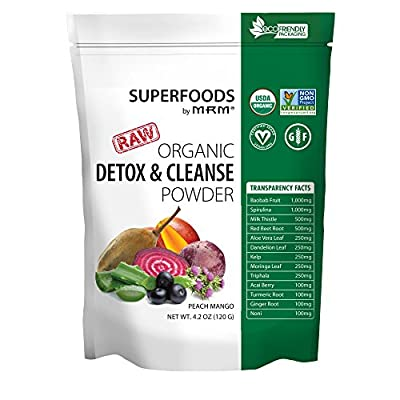MRM Super Foods Detox & Cleanse, 150 Gram