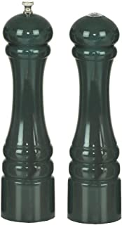 product image for Chef Specialties - 10800 - Autumn Hues - 10 Inch - Pepper Mill And Salt Shaker Set - Forest Green