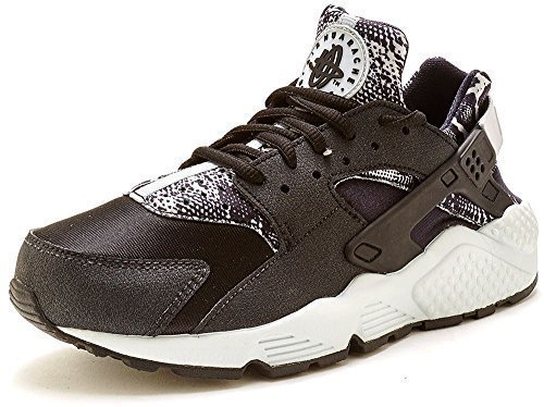 Nike Damen Air Huarache Laufschuhe Schwarz Reines Platin 002
