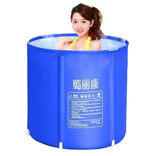 Bañera hinchable plástico Baño barril adulto Adultos adultos ...