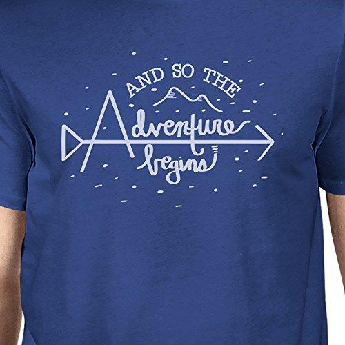 de corta manga Printing hombre 365 talla Camiseta para de RxAgEHOwq