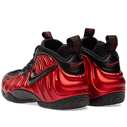 Nike Air Foamposite Pro Männer Basketballschuhe Universität Rot / Schwarz-Universität Rot