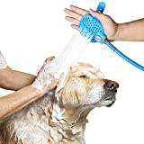 Pet Shower Sprayer,Pet Bathing Tool with 7.5 Foot Hose and 2 Hose Adapters For Dog Cat Horse Grooming and Massage, Indoor-Outdoor Use