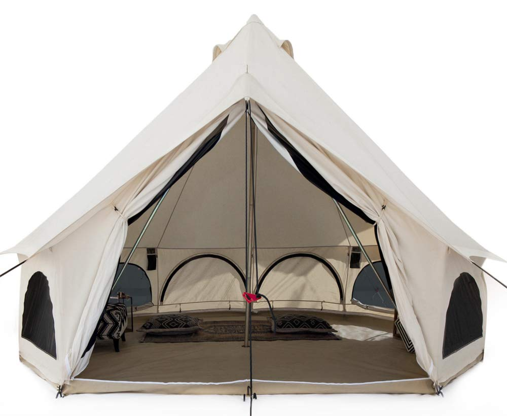 White Duck Outdoors Premium Canvas Bell Tent
