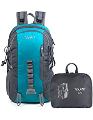 TOURIT Light Travel Hiking Backpack Packable Foldable Daypack Waterproof Back Packs for Hiking, Large Capacity...