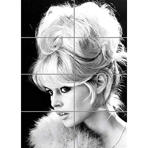 BRIGITTE BARDOT ACTRESS B&W MOVIE STAR GIANT ART PRINT HOME DECOR POSTER OZ1679