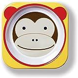 Skip Hop Zoo Little Kid Melamine Feeding Bowl, Marshall Monkey