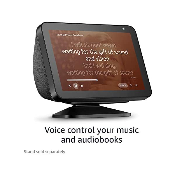 Echo Show 8 -- HD smart display with Alexa – stay connected with video calling - Charcoal 6