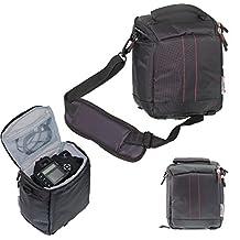 Navitech Black Protective Portable Handheld Binocular Case and Travel Bag for the Nikon MONARCH 7 8X42