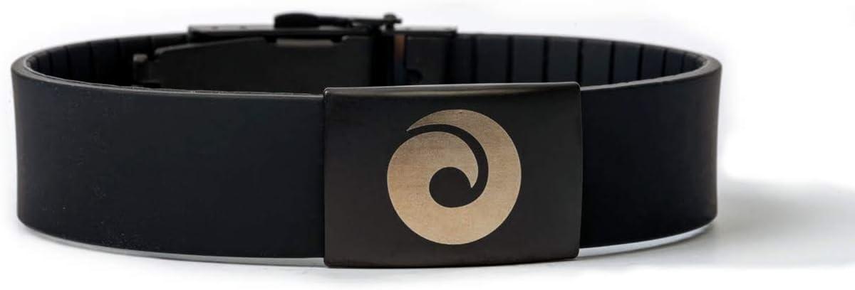 EMF Harmonizer Mobility Wrist Band – Whole Body EMF Protection on The Go – Proven European Technology from EMF Harmony (Black)