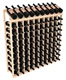 Wine Racks America Ponderosa Pine 10 Column 10 Row Display Top Kit. 13 Stains to Choose From!
