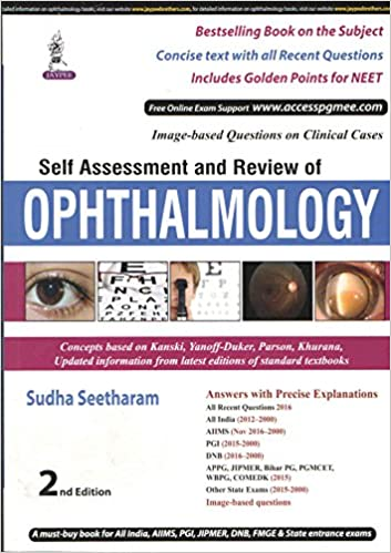 Buy Self Assessment and Review of Ophthalmology (PGMEE) Book