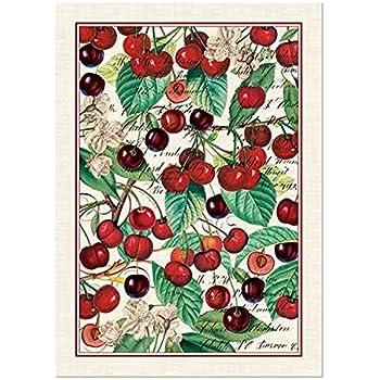 Michel Design Works Black Cherry Cotton Kitchen Towel, Multicolor Part 47