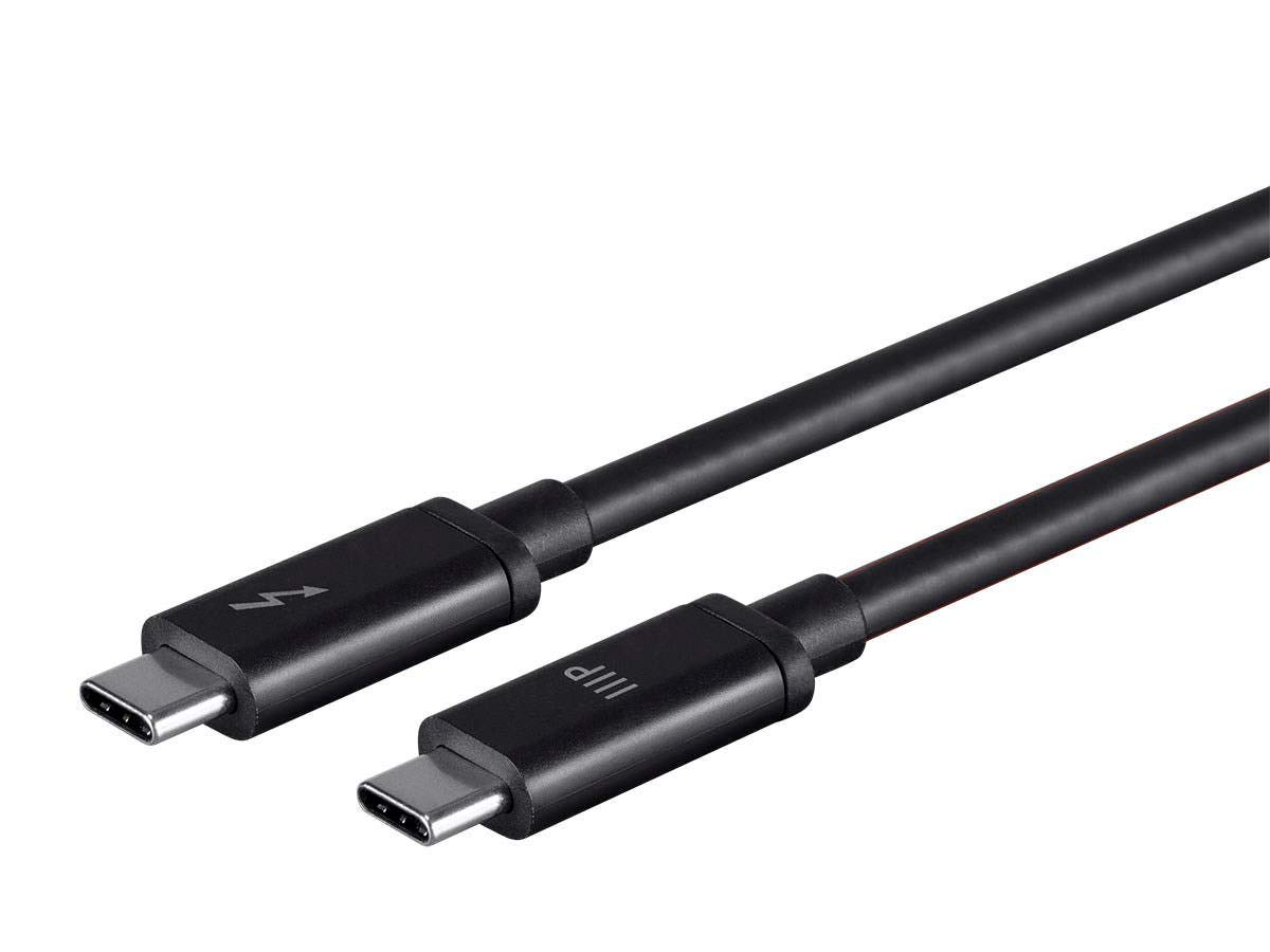 Monoprice Thunderbolt 3 (20 Gbps) USB-C Cable, 100W, 2.0m by Monoprice