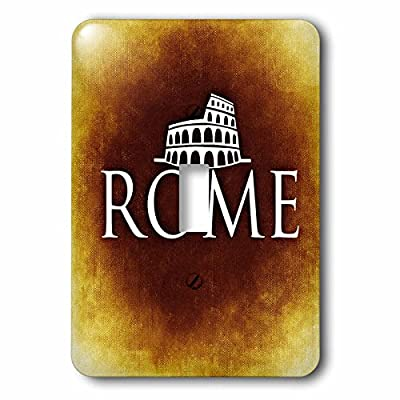 Sven Herkenrath City - Rome with the Italian Colosseum - Light Switch Covers - single toggle switch (lsp_239649_1)