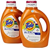 Tide Plus Bleach Alternative High Efficiency Liquid Laundry Detergent - 92 oz - Original - 2 pk