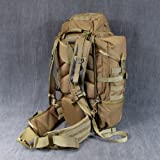 Eberlestock HalfTrack Military Pack w/Tunnel Pockets and D-Rings, Coyote Brown F3MC, Outdoor Stuffs