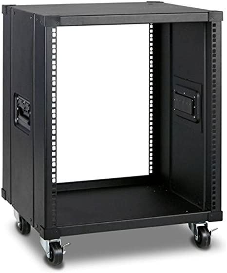Amazon Com Monoprice 12u 450mm Depth Simple Server Rack Gsa Approved Computers Accessories