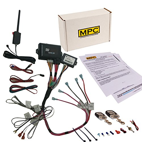 MPC Remote Start & Keyless Entry Kit Fits Select Chevrolet and GMC Vehicles 2002-2009 - Prewired to Simplify Install! (Remote Start Gm Kit)