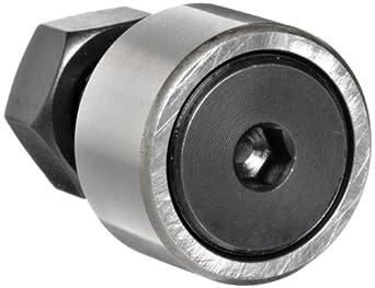 THK Cam Follower CF10 22mm OD x 36mm Length x M10x1.25 Thread, Cylindrical 12mm Width Outer Ring