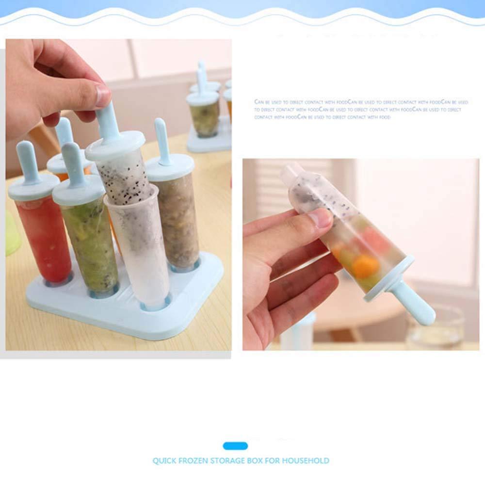 Compra Second Sunny - Molde para Helado (6 moldes) en Amazon.es