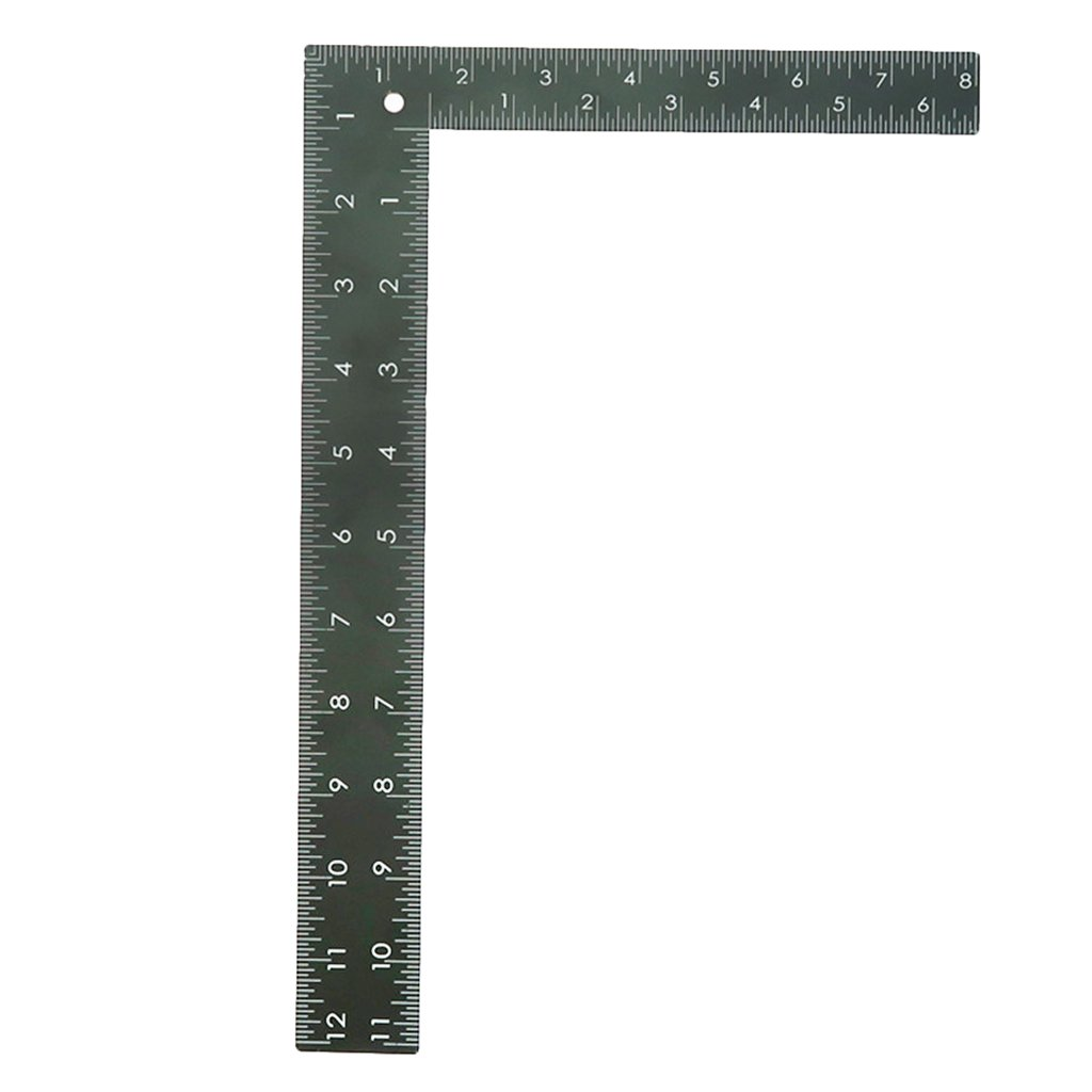 L Square Quilting Ruler 90 Degree Ruler Double Side Scale Dress Making Ruler