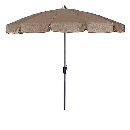 6e9569de4128 Amazon.com : Offset-Umbrella Large Outdoor Adjustable Parasol W ...