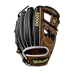 """The new A2000 1787 is made to work for you - no matter where you play on the infield. This 11.75"""" SuperSkin WTA20RB191787SS is popular with both third basemen and middle infielders because of a pocket that's a little deeper, making it easier ..."""