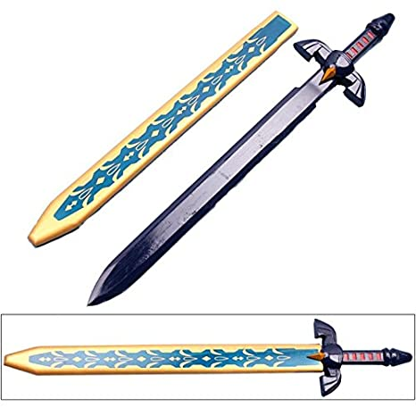 Zelda Twilight Princess Links Master Wooden Sword With Scabbard