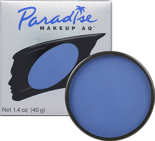 Mehron Makeup Paradise Makeup AQ Face & Body Paint (1.4 oz) (Dark Blue) - Dark Face Paint