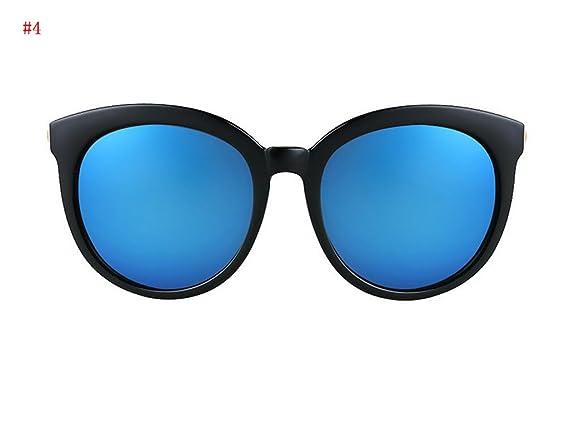 Flashing- la mode des lunettes de soleil à la mode rétro lunettes de soleil de mode lunettes de soleil polarisées Mme ( Couleur : #4 ) TCmMU