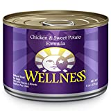 Wellness Natural Food for Pets Complete Health Natural Wet Canned Dog Food, Chicken and Sweet Potato Recipe, 6-Ounce Can (Pack of 24)