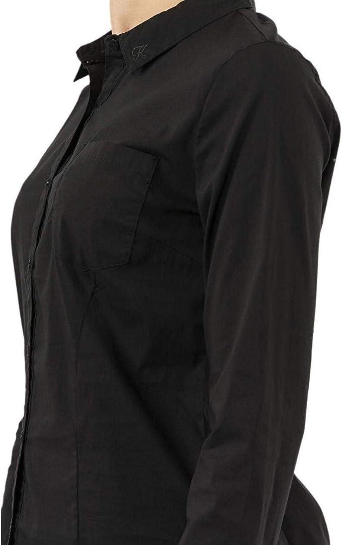 Kaporal Jeans - Camisa Mujer Manga Larga Color Negra Twerk - M, Negro: Amazon.es: Ropa y accesorios