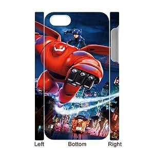Big Hero 6 YT0067492 3D Art Print Design Phone Back Case Customized Hard Shell Protection Iphone 4,4S