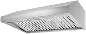 "Thor Kitchen 48"" Under Cabinet Range Hood 900CFM 3-Speed Stainless Steel With 3 Light Blubs HRH4806U"