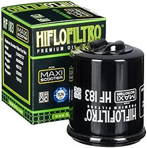 Filtro de aceite HiFlo filtro Scooter Derbi 125 Rambla 2008 a 2013 hf183 Neuf: Amazon.es: Coche y moto
